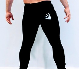 Slim-Fit Joggers (Black)