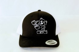 Trucker Cap (Black and White)