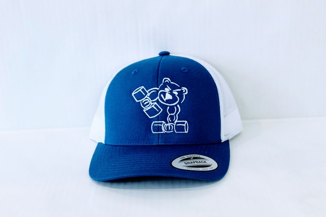 Trucker Cap (Blue and White)