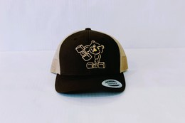 Trucker Cap (Chocolate and Caramel)