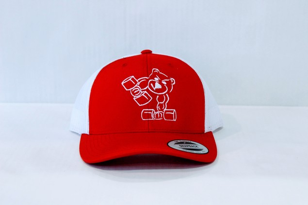 Trucker Cap (Red and White)