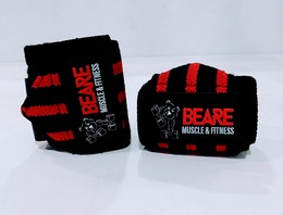 Weight lifting wrist support straps