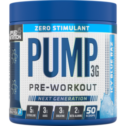 Applied Nutrition Pump 3G Zero-Stimulant Pre-Workout (375g)
